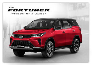 New Fortuner Legender
