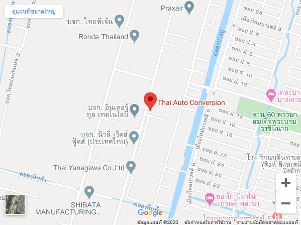 Thau Auto Conversion Map